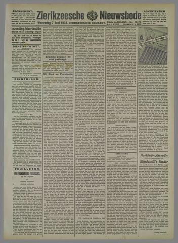 Zierikzeesche Nieuwsbode 1933-06-07