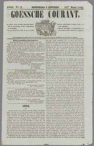 Goessche Courant 1865-01-05