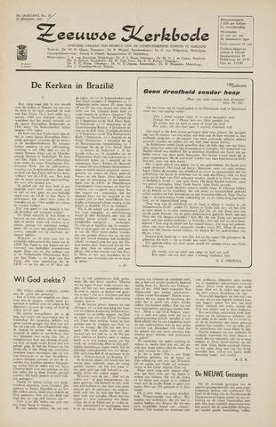 Zeeuwsche kerkbode, weekblad gewijd aan de belangen der gereformeerde kerken/ Zeeuwsch kerkblad 1965-01-22