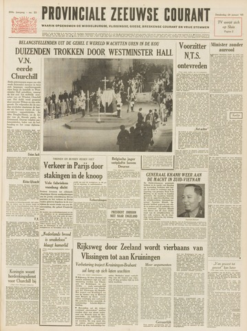 Provinciale Zeeuwse Courant 1965-01-28