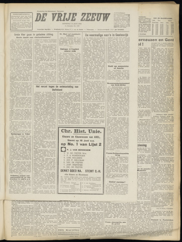 de Vrije Zeeuw 1949-06-14