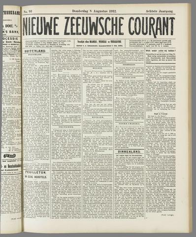 Nieuwe Zeeuwsche Courant 1912-08-08