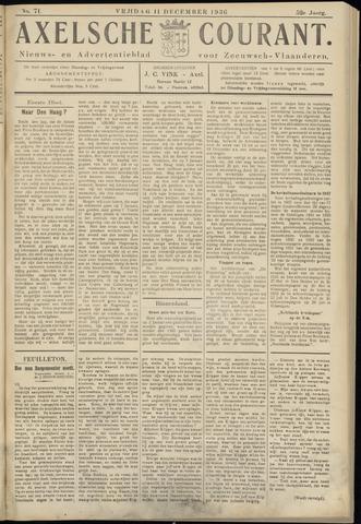 Axelsche Courant 1936-12-11