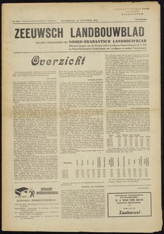 Zeeuwsch landbouwblad ... ZLM land- en tuinbouwblad 1954-10-16