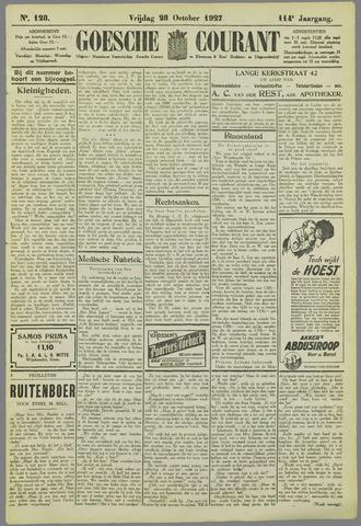 Goessche Courant 1927-10-28