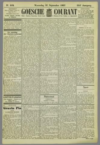 Goessche Courant 1927-09-21