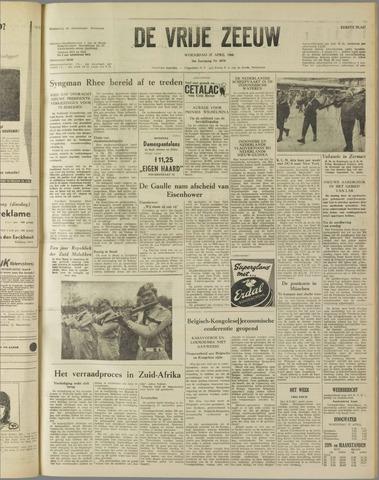 de Vrije Zeeuw 1960-04-27