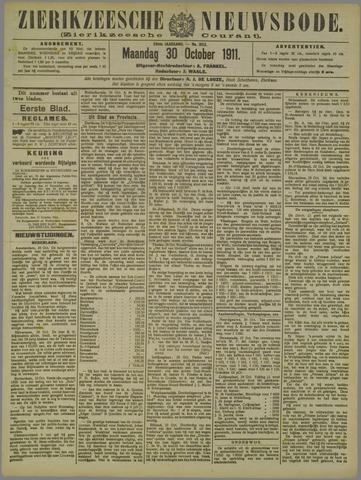 Zierikzeesche Nieuwsbode 1911-10-30