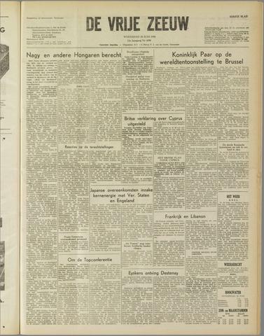 de Vrije Zeeuw 1958-06-18