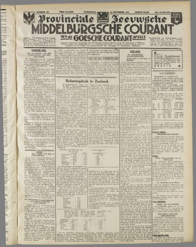 Middelburgsche Courant 1937-09-23