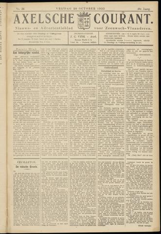 Axelsche Courant 1933-10-20