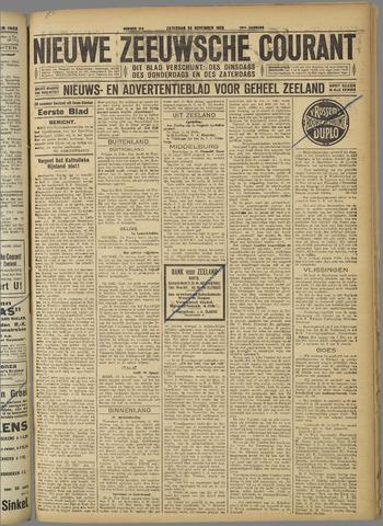 Nieuwe Zeeuwsche Courant 1923-11-24