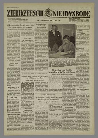 Zierikzeesche Nieuwsbode 1955-11-26
