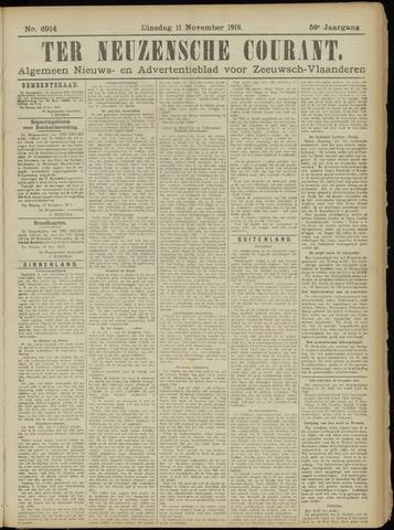 Ter Neuzensche Courant. Algemeen Nieuws- en Advertentieblad voor Zeeuwsch-Vlaanderen / Neuzensche Courant ... (idem) / (Algemeen) nieuws en advertentieblad voor Zeeuwsch-Vlaanderen 1919-11-11