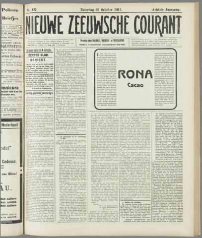 Nieuwe Zeeuwsche Courant 1912-10-26