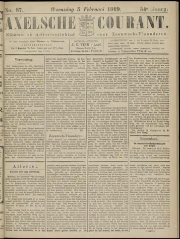 Axelsche Courant 1919-02-05