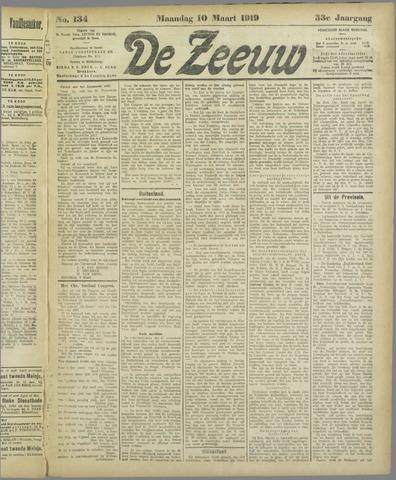 De Zeeuw. Christelijk-historisch nieuwsblad voor Zeeland 1919-03-10