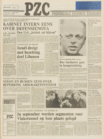 Provinciale Zeeuwse Courant 1974-06-29
