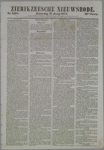 Zierikzeesche Nieuwsbode 1874-06-27