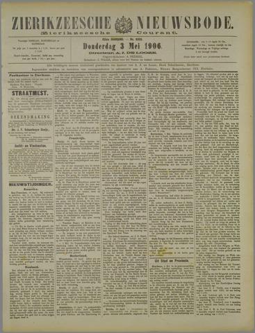 Zierikzeesche Nieuwsbode 1906-05-03
