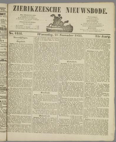 Zierikzeesche Nieuwsbode 1855-11-28