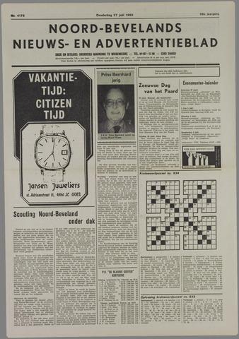 Noord-Bevelands Nieuws- en advertentieblad 1985-06-27