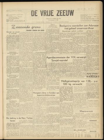 de Vrije Zeeuw 1957-02-15