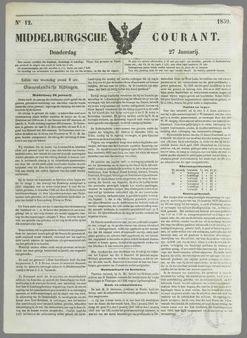 Middelburgsche Courant 1859-01-27