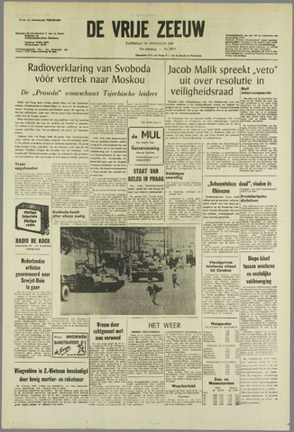 de Vrije Zeeuw 1968-08-24