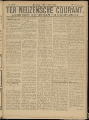 Ter Neuzensche Courant. Algemeen Nieuws- en Advertentieblad voor Zeeuwsch-Vlaanderen / Neuzensche Courant ... (idem) / (Algemeen) nieuws en advertentieblad voor Zeeuwsch-Vlaanderen 1920-11-20