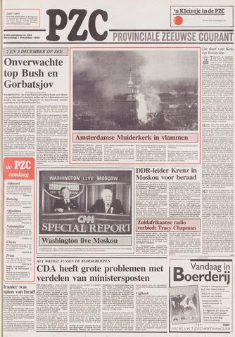 Provinciale Zeeuwse Courant 1989-11-01