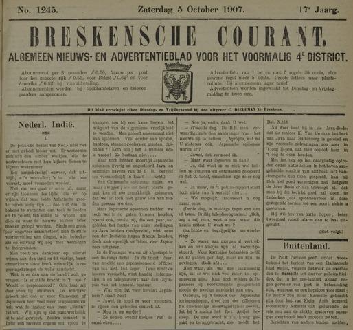 Breskensche Courant 1907-10-05
