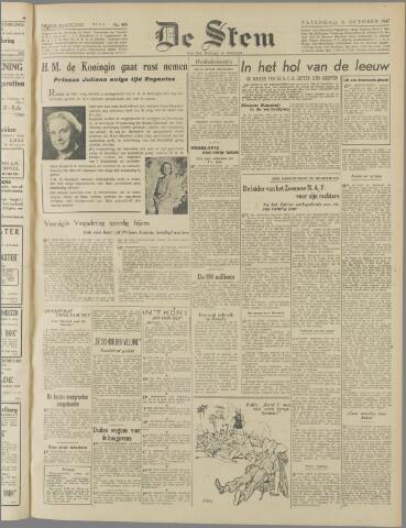 de Stem 1947-10-04