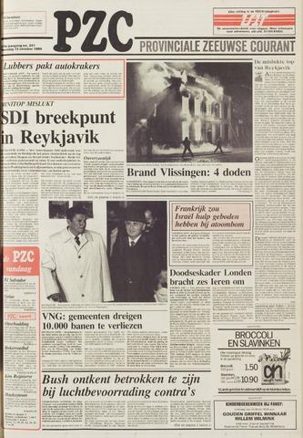 Provinciale Zeeuwse Courant 1986-10-13