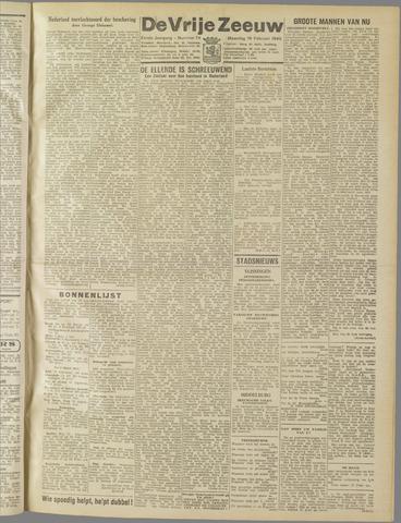 de Vrije Zeeuw 1945-02-19