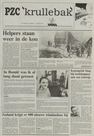 Provinciale Zeeuwse Courant katern Krullenbak (1981-1999) 1993-01-19