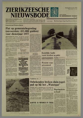 Zierikzeesche Nieuwsbode 1976-12-21