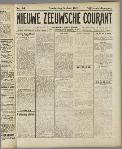 Nieuwe Zeeuwsche Courant 1919-06-05
