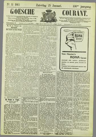 Goessche Courant 1913-01-25