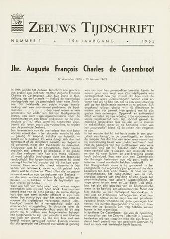 Zeeuws Tijdschrift 1965-01-01