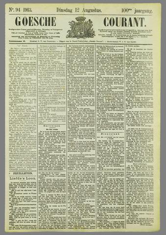 Goessche Courant 1913-08-12