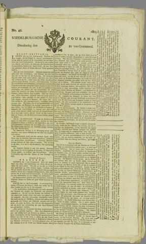 Middelburgsche Courant 1809-04-20