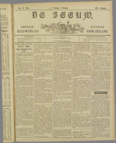 De Zeeuw. Christelijk-historisch nieuwsblad voor Zeeland 1896-12-01