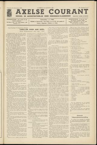 Axelsche Courant 1964-08-29