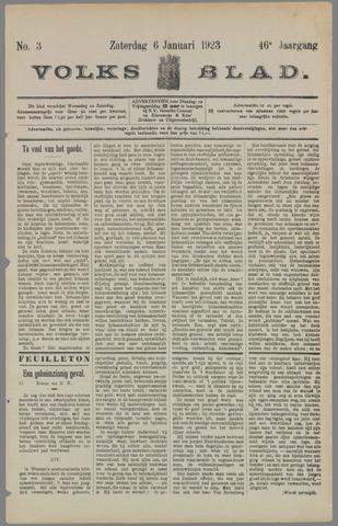 Volksblad 1923-01-06