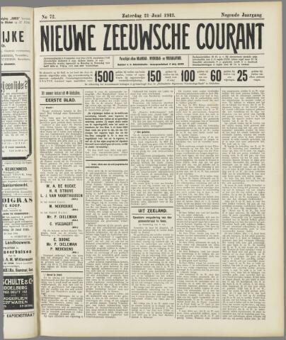 Nieuwe Zeeuwsche Courant 1913-06-21