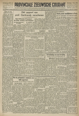 Provinciale Zeeuwse Courant 1946-05-06