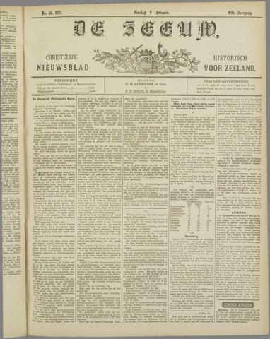 De Zeeuw. Christelijk-historisch nieuwsblad voor Zeeland 1897-02-09