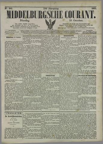 Middelburgsche Courant 1891-10-13