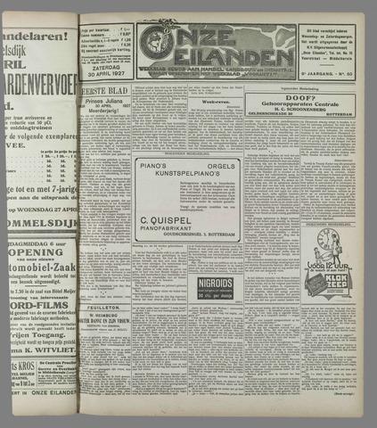 Onze Eilanden 1927-04-30